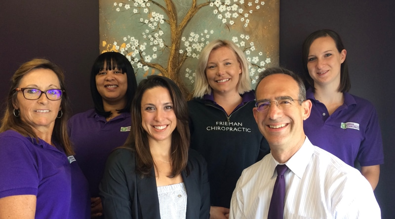 Chiropractor Parkville MD Robert Frieman and Office Staff